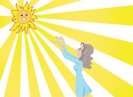 Солнце в волосах