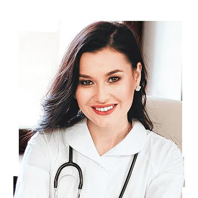 Врач-терапевт, диетолог, член Международной ассоциации диетологов ICDA, основатель школы здоровья «Regina Doctor» в Уфе, автор книг «Здоровое Питание в большом городе» и «Я не люблю сладкое» Регина Ахуньянова.